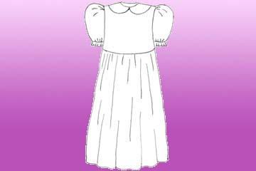 girls columbine dress
