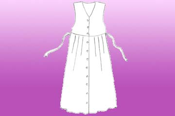 girls crocus pinafore