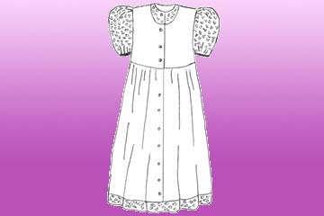 girls harvest dress