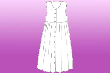 girls harvest pinafore
