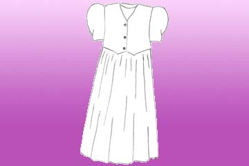 girls violet vest dress