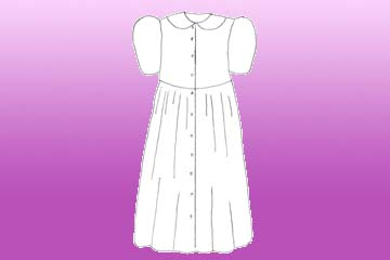 ladies bellis dressing gown