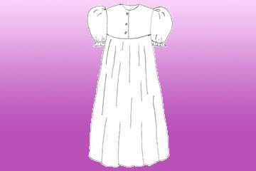 ladies summer nightgown