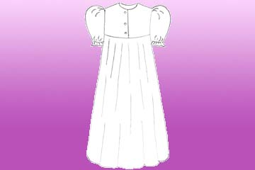 nursing summer nightgown