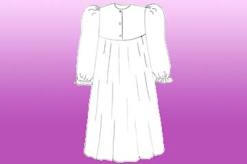 nursing winter nightgown